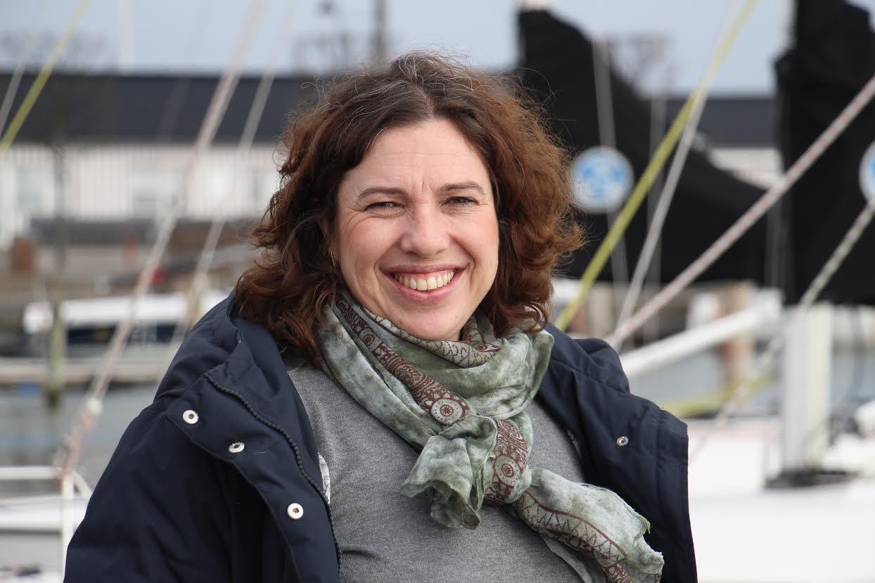 Ingeborg Gayle Nielsen skal koordinere sejladsen på Tuborg og Skovshoved Havn. Foto: KDY