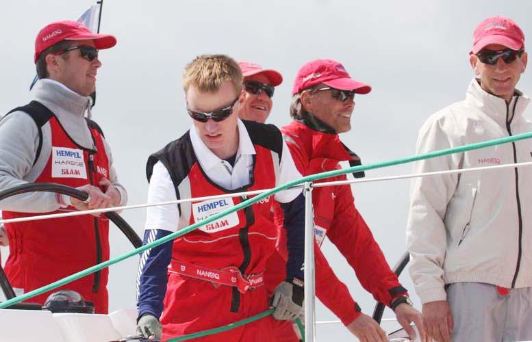 Kronprinsen under Palby Fyn Cup med blandt andet Hestbæk, Helveg, Palm. Foto: Troels Lykke