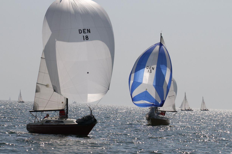 Flere unge sejlere finder i øjeblikket vej til L23-klassen. Foto: Ib Kofoed