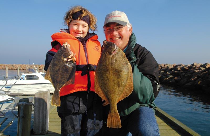 Fladfisk på Langeland