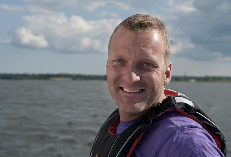 Roskilde Sejlklubs nye formand Lauge Philipsen. Foto: Søren Svarre