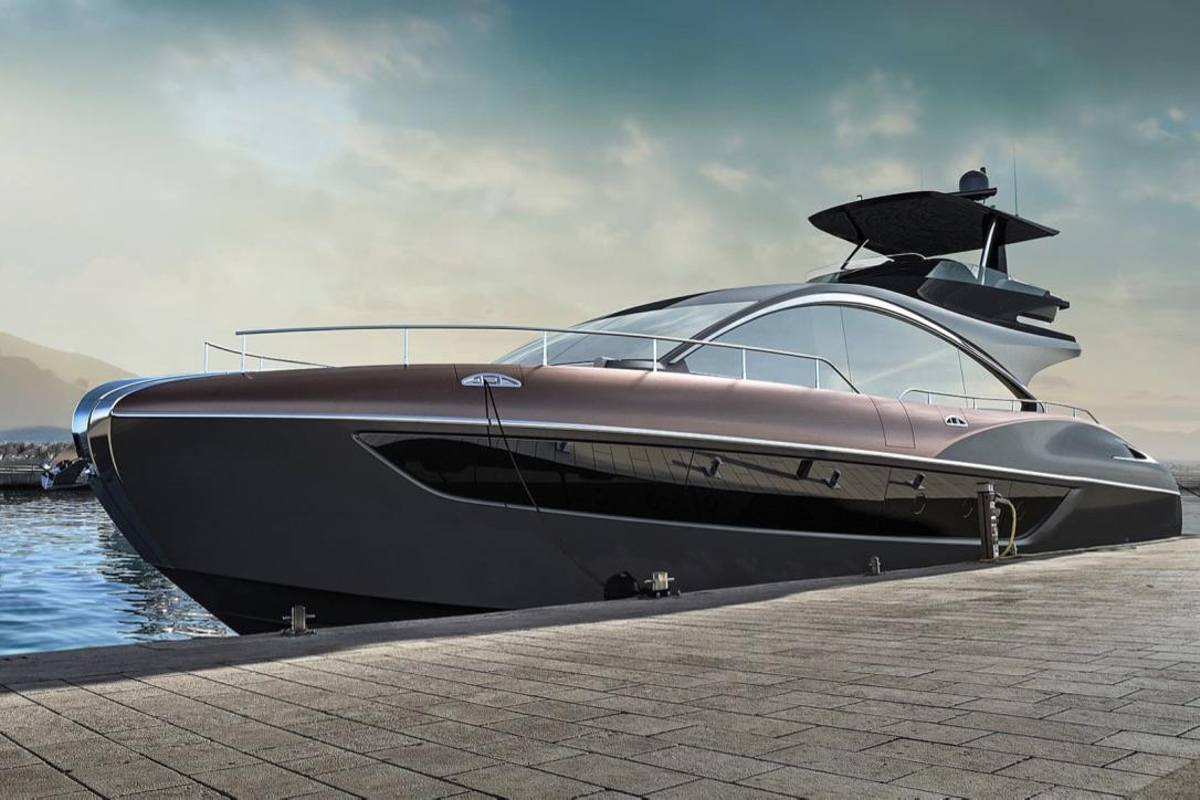 LY 650 bliver Lexus' fjerde flagskib. I forvejen tæller flåden LS Sedan, LX SUV og LC Coupé. Foto: PR-foto