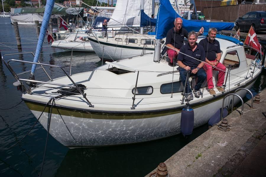 Yachtbroker starter med udlejning af de to LM27-motorsejlere, Sisu og Nusser. Bådene er købt i henholdsvis Kerteminde og Nyborg. Foto: Søren Stidsholt Nielsen, Søsiden, Fyns Amts Avis