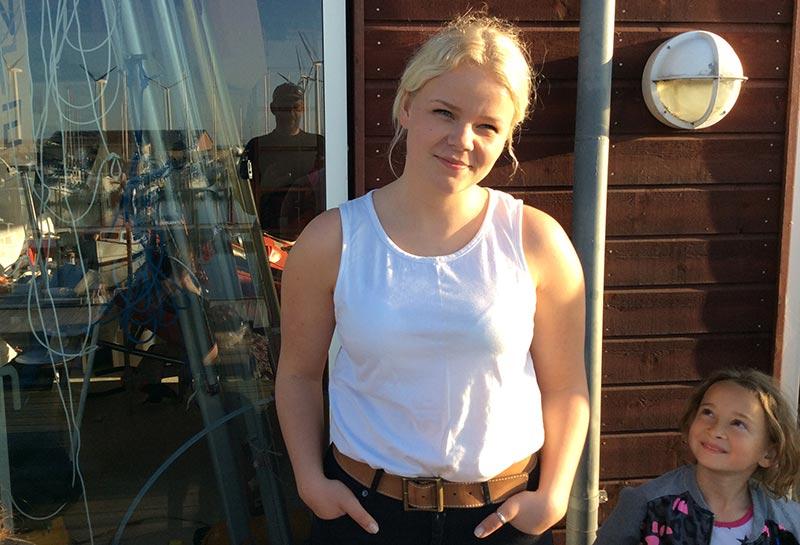 Ungdomstræner i Bønnerup Strand Sejlklub Louise Venøbo mener, at mange flere unge burde inddrages i klubbernes planlægningsarbejde. Foto: Erik Venøbo