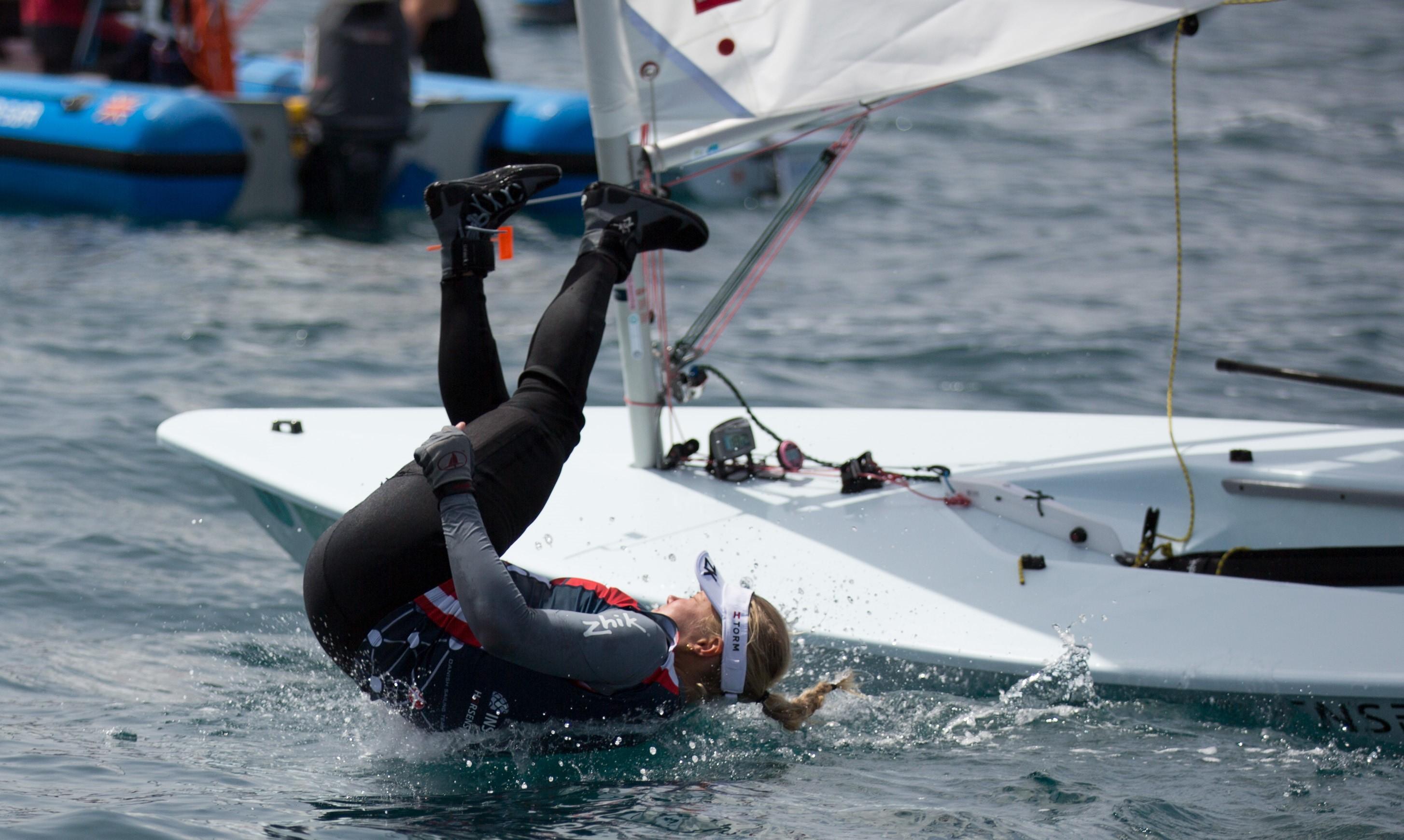En af de aktive sejlere er Anne-Marie Rindom i Laser Radial. Foto: Peter Brøgger