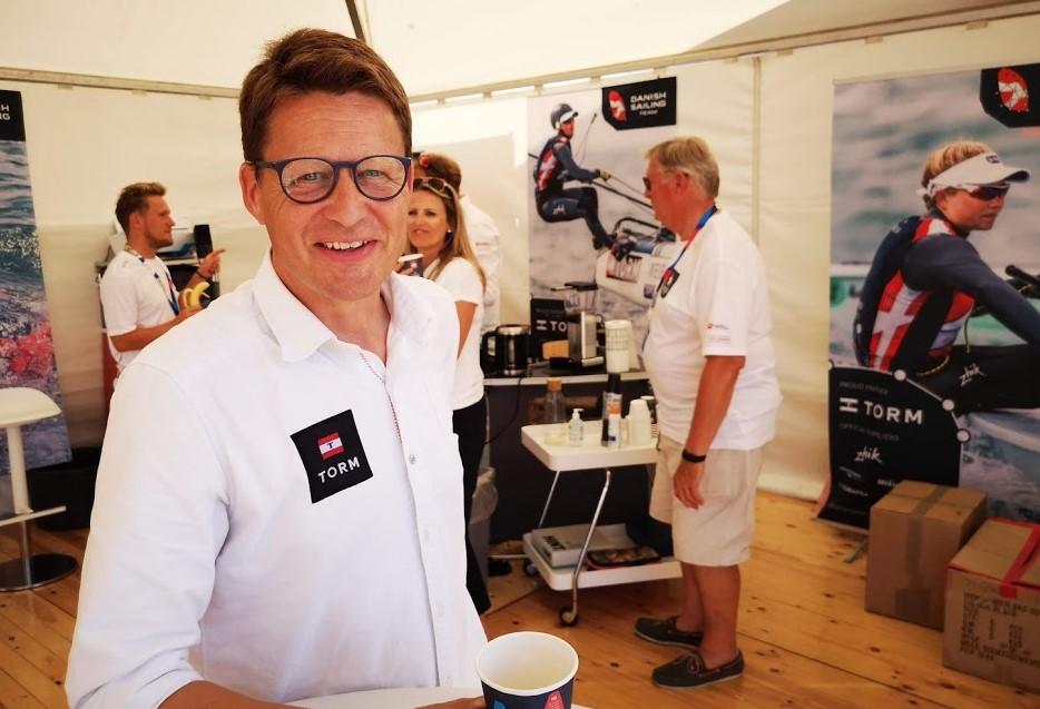 Generalsekretær i Dansk Sejlunion, Mads Kolte-Olsen, der stopper i denne uge i Brøndby, har arbejdet meget for at få nye ind i sejlsporten. Foto: Troels Lykke