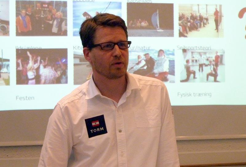 Danske sejlklubber mister medlemmer. Det skal der rettes op på, sagde Mads Kolte-Olsen fra Dansk Sejlunion på et møde i dag. Foto: Katrine Bertelsen