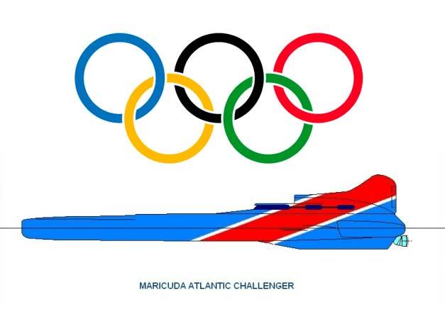 Maricuda Atlantic Challenger kan krydse Atlanten på to dage.