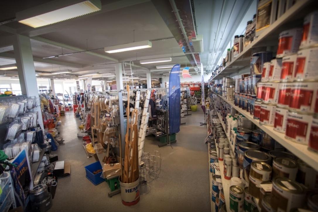 Dansk Marineudstyr i Kolding er Marine Pro Shop-forhandler. Foto: Dansk Marineudstyr