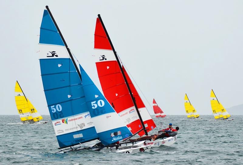 Lige nu sejles der Masters i Australien. Foto: hobieworlds.com