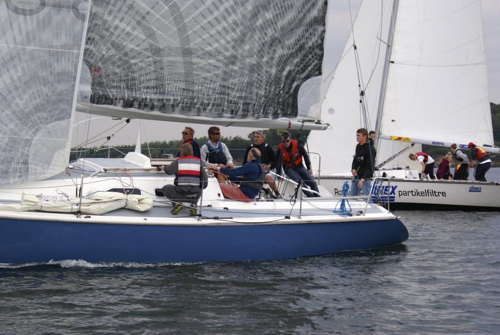 Der findes fire Matcher 37ere i Kolding. I alt er der bygget ni af bådtypen. Foto: Rune Drasbæk Dorow