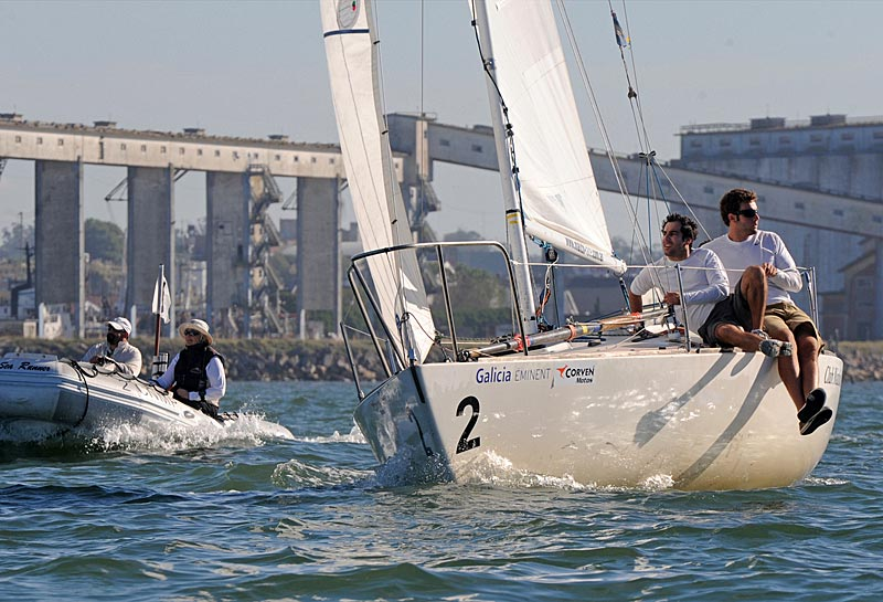 Match Race i Argentina i søndags. foto: Match Racing Denmark/Marina Devo