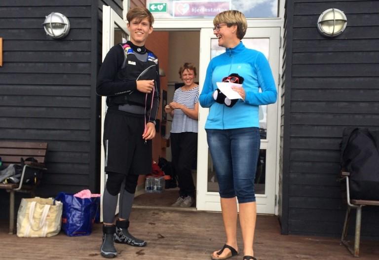 Fynske Idrætsforbund fremhævede særligt Mettes evne til at motivere de frivillige i Thurø Sejlklub.
