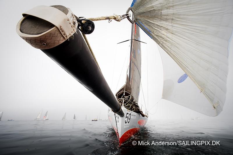 62 fods Big Challenge fra Svendborg blev her fanget af Mick Anderson. Foto: SailingPIX.dk