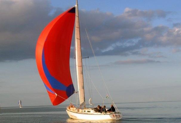De første både blev solgt for ca. 100.000 kr. uden motor og sejl. Foto. molich-x-meter