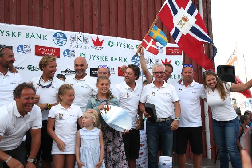 Morten Henriksen, tv, fra Odense steg til tops på norsk Landmark 43. Foto: Per Heegaard/KDY