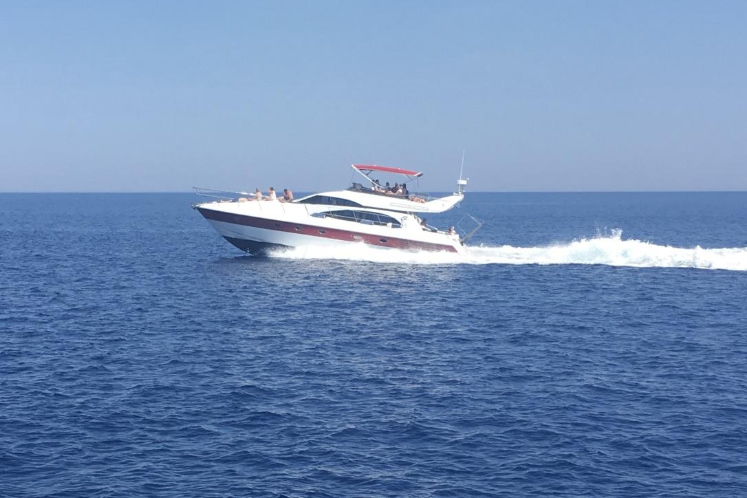 Motorbåde i alle størrelser kan deltage i sejladsen i september. Foto: Sara Sulkjær