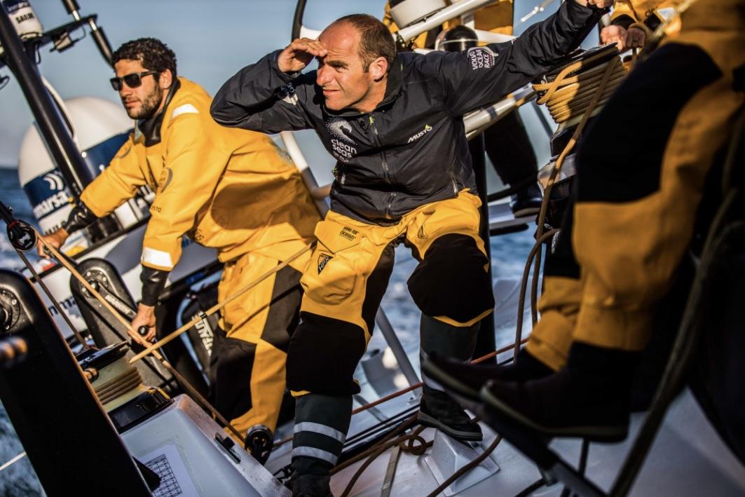 Professionelle sejlere er hyppige brugere af britiske Musto. Foto: Volvo Ocean Race