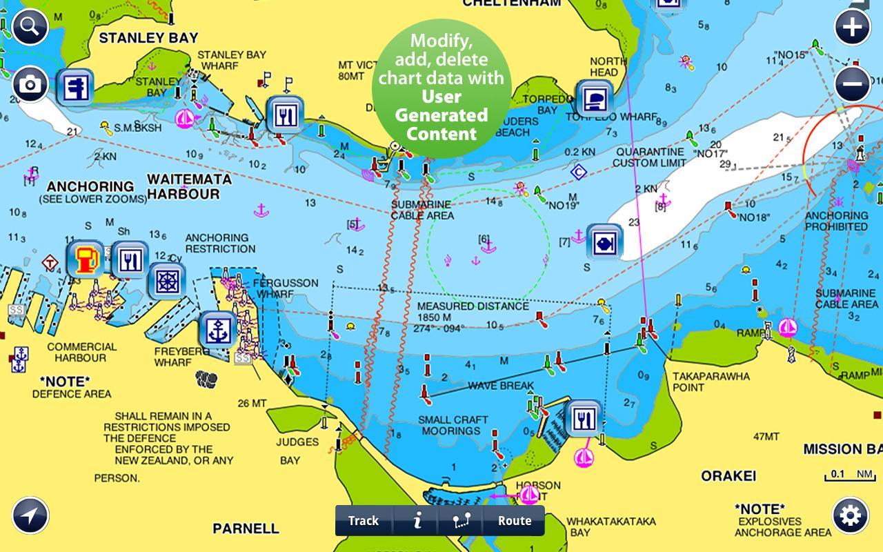 mappe navionics