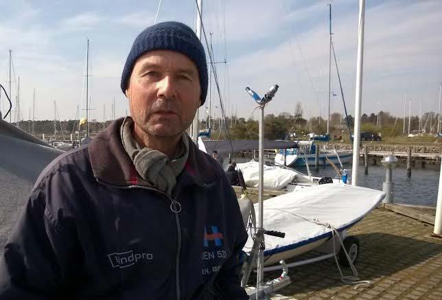 56-årige Niels Henrik Borch: - Det bliver os gamle, der skal sejle for klubben i ligaen, ser det ud til. Foto: Troels Lykke