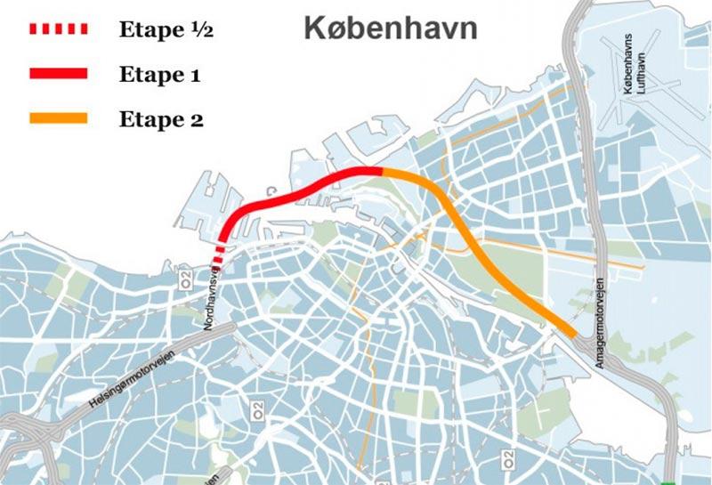 Illustration fra Transportministeriets strategiske analyse, december 2013.