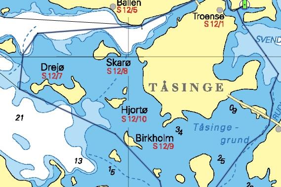Øhavet Rundt sejles i det flotte Sydfynske Øhav.
