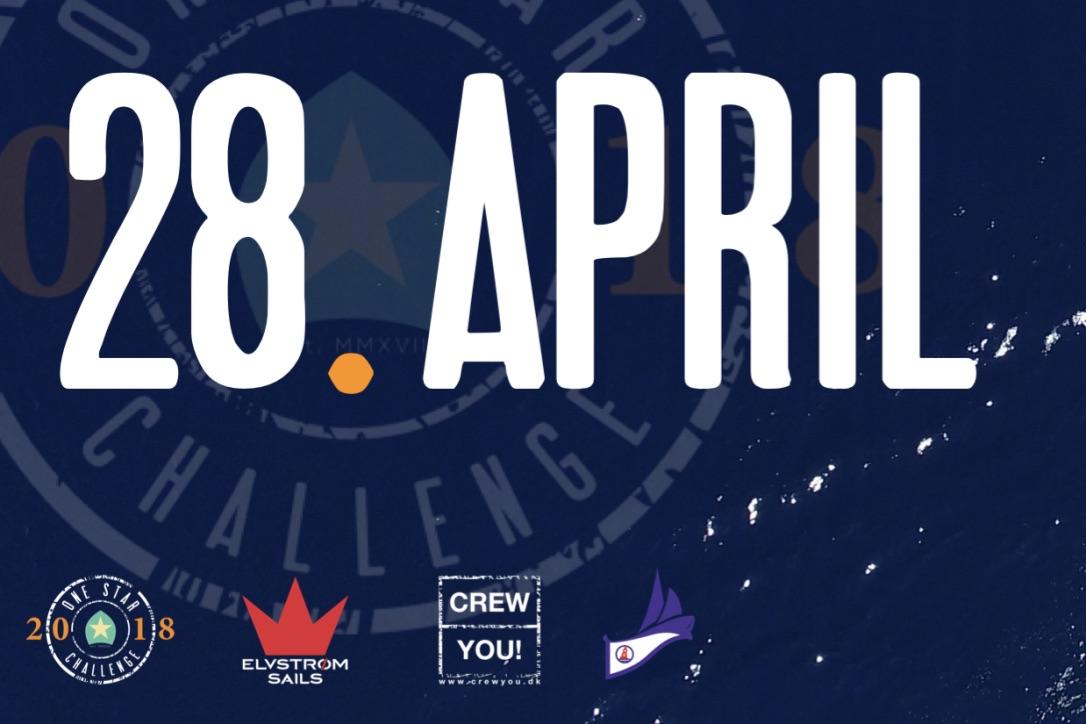 28. april danner Køge Sejlklub rammen om et nyt event for One Star-sejlere. Foto: PR-foto