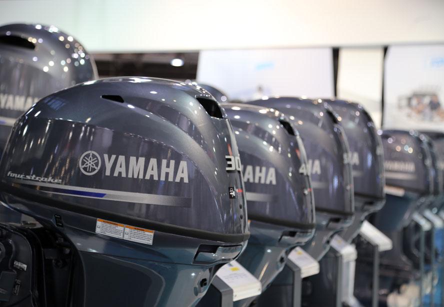 Påhængsmotorerne var stjålet i Kerteminde og Svendborg. Foto: Troels Lykke