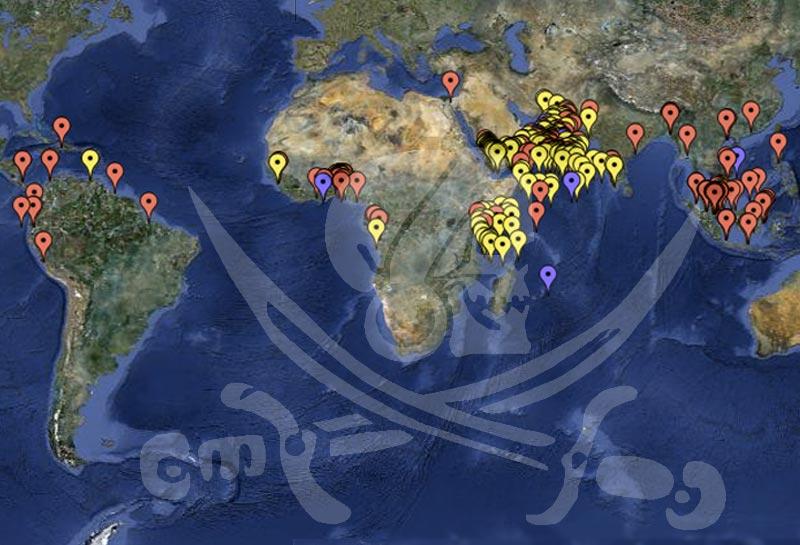 På verdensplan er otte søfolk blevet dræbt af pirater i år, mens 41 er blevet kvæstet. Foto: icc-ccs.org