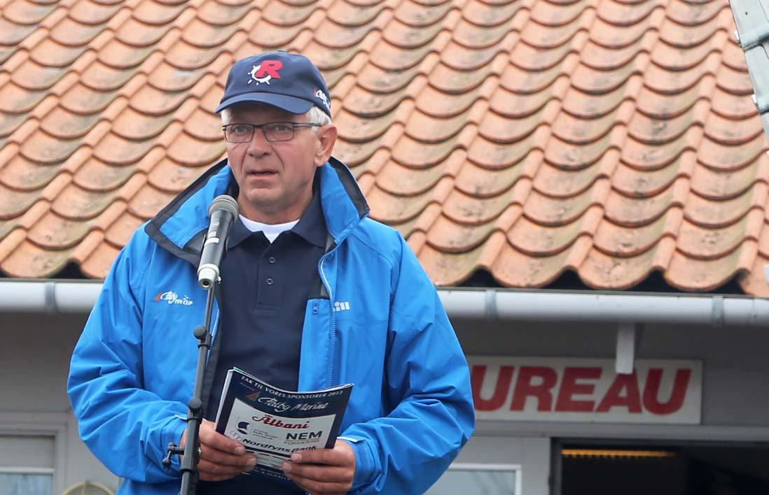 Poul Erik Nielsen er stævneleder for Palby Fyn Cup, men nu overvejer han at trække sig fra den post. Foto: Troels Lykke