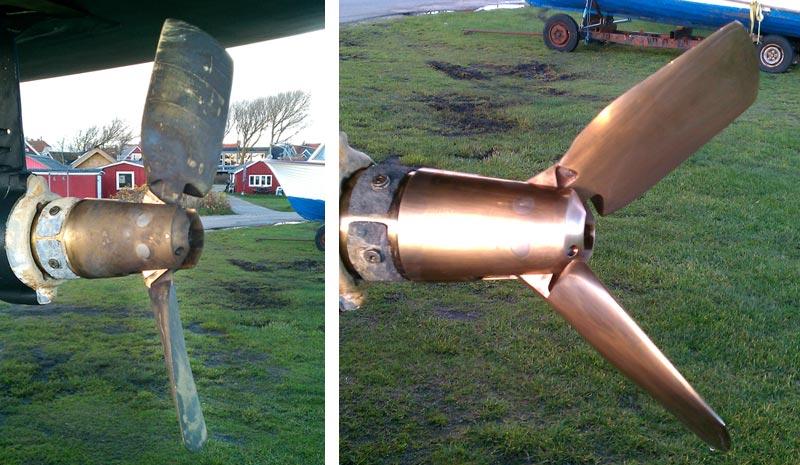 Drop de skrappe mekaniske metoder. Det ødelægger propellen på sigt. Fotos: Lars From/evosion