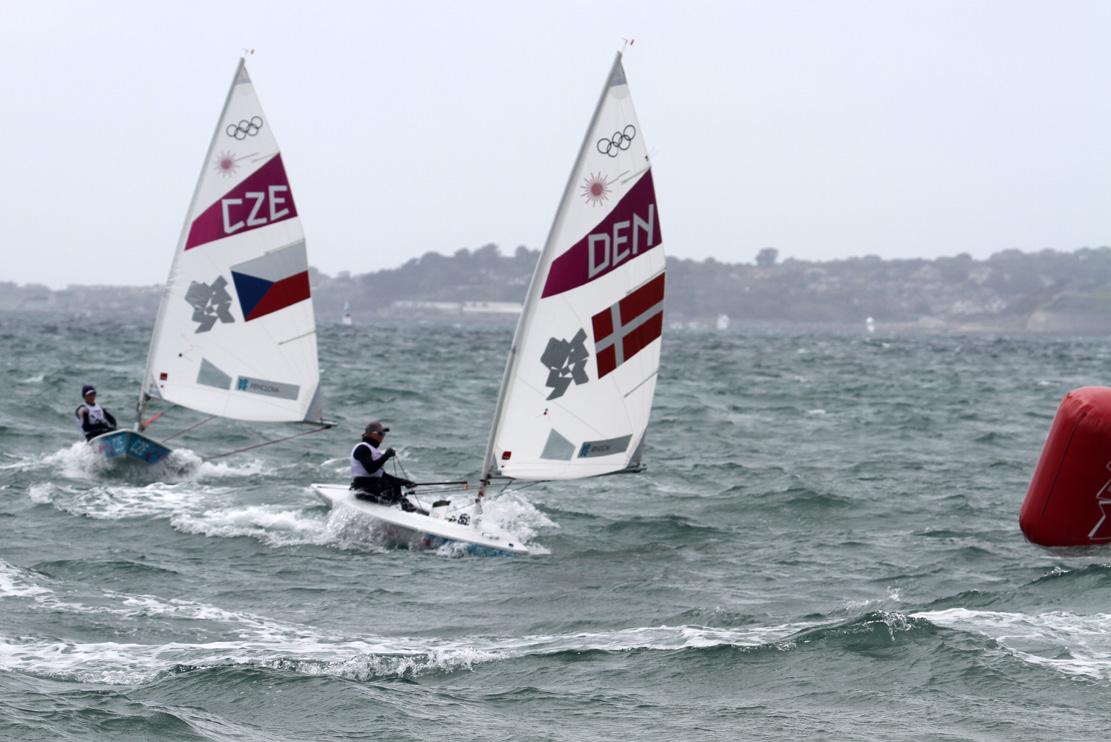 Laser Radial-sejler Anne-Marie Rindom scorede en 13. plads og har fået massiv ros af Team Danmark-boss, Michael Andersen. Foto: Troels Lykke