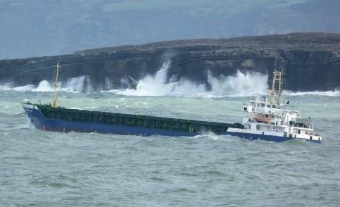 Coasteren sejler under portugisisk flag. Foto: Baltic Shipping Company A/S