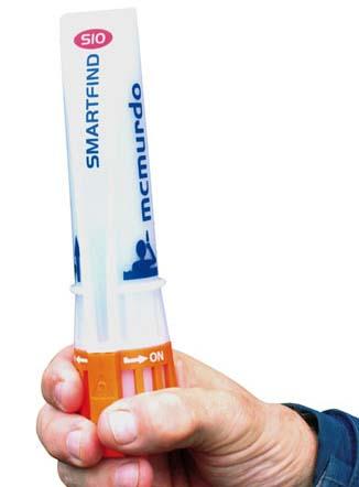 Smartfind S10 er en AIS personlig nødsender, der kan flyde og tåle vand, fortæller Furuno.