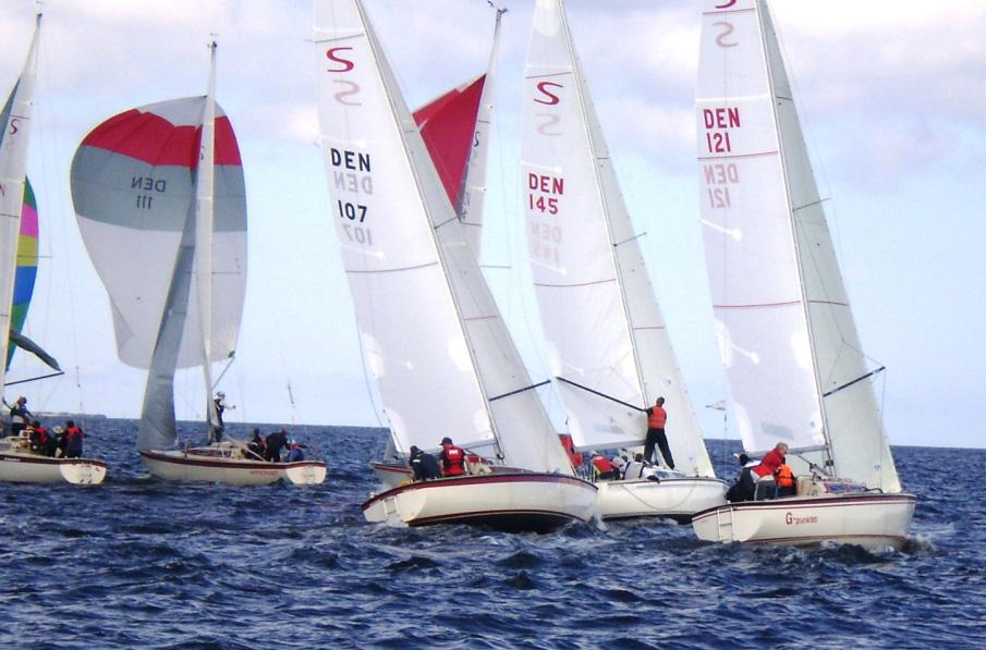 21 ScanKap 99ere sejlede i Lynæs.