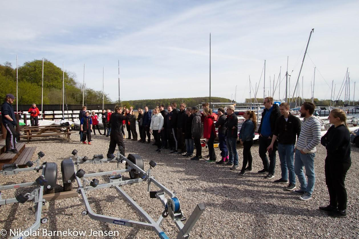 De unge vil gerne sejle i Thurø. Foto: Nikolai Barnekow Jensen