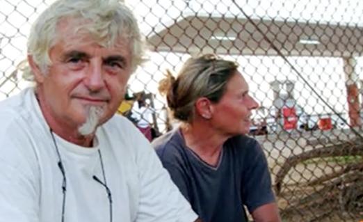 Jurgen Kantner er nu dræbt, efter at terrorgruppe angreb hans sejlbåd og tog ham som gidsel. Foto: YouTube