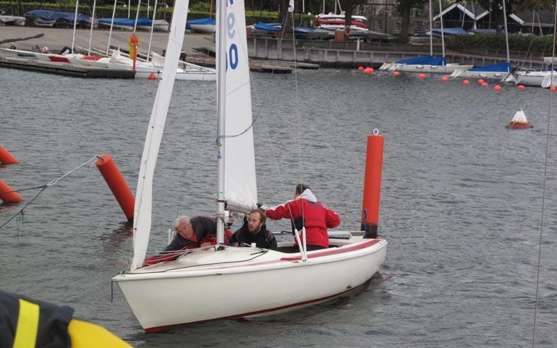 Som sejlerskoleelev skal du selv have fritids- eller heltidsulykkesforsikring, hvis du skal være dækket ind. Foto: Troels Lykke