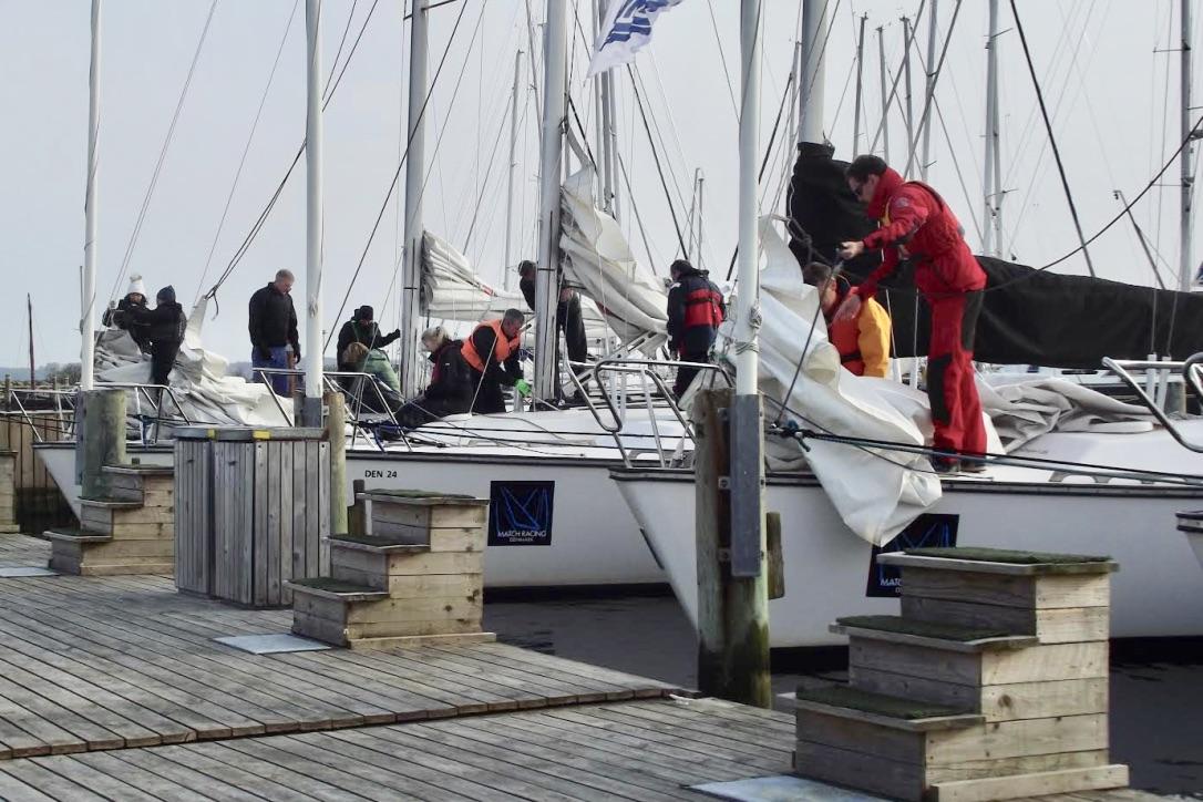 Det er nu også muligt at modtage prøvebeviser fra Dansk Sejlunion. Foto: Middelfart Sejlklub