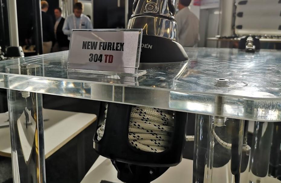 Furlex TD fra Seldén er med en tre centimeter smallere diameter, hvilket nye, danske moderne både bruger. Foto: Troels Lykke
