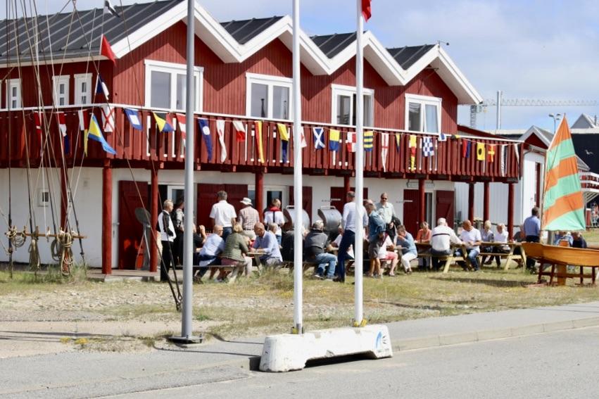 Det sociale liv er et centralt fokuspunkt i Skagen Sejlklub. Foto: Privatfoto