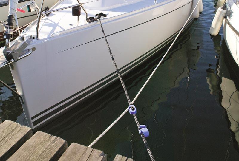 Smart Snubber fås i blå og i to størrelser. Foto: Palby Marine