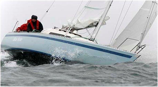 Jens Als Andersen sejlede også Solus Alta i singlehandsejlads over Atlanten i 1988 i kapsejladsen CSTAR. Arkivfoto: solus-alta.