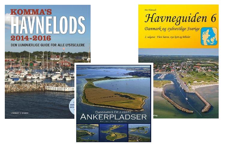Disse bøger kan guide dig både før og under sommerens sejltur.