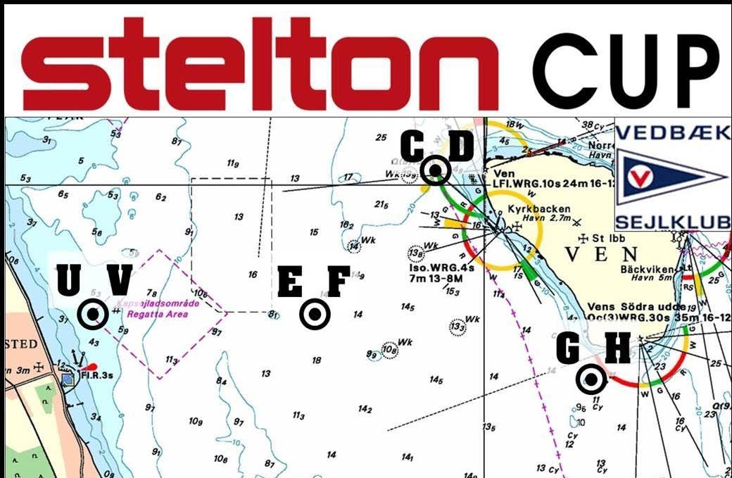 Quantum Sails og X²box udfærdiget et taktisk oversigtskort, som bliver udleveret til alle sejlerne som klistermærke der kan opsættes i cockpittet