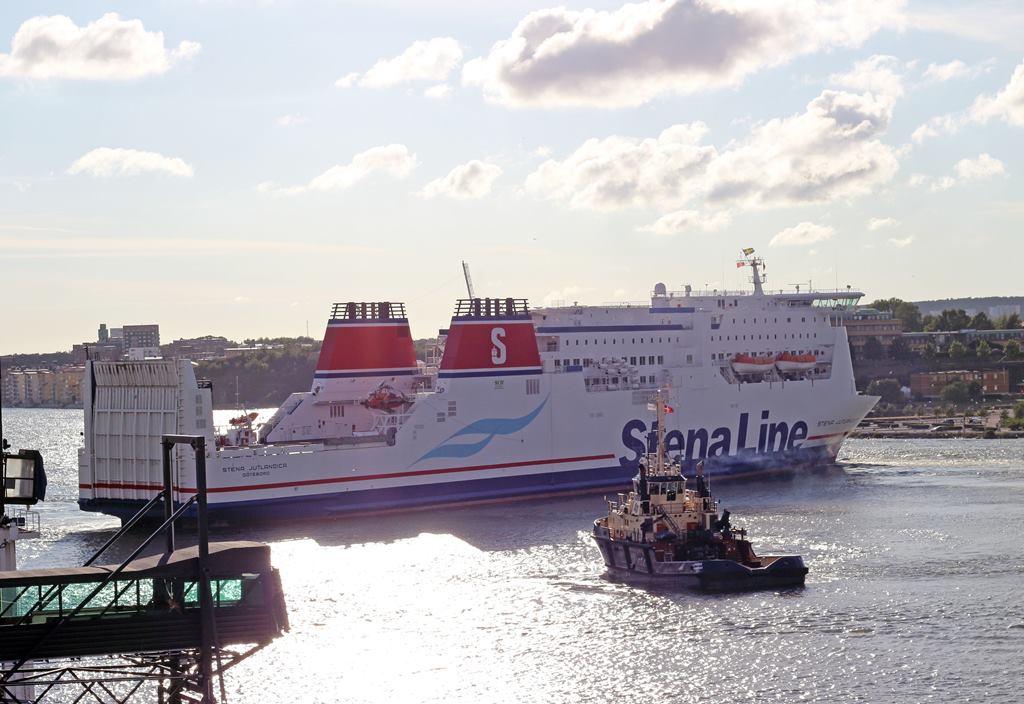 Målet er at færgen skal kunne sejle op til 50 nautiske mil ad gangen kun drevet af batterier. Foto: Stena Line.