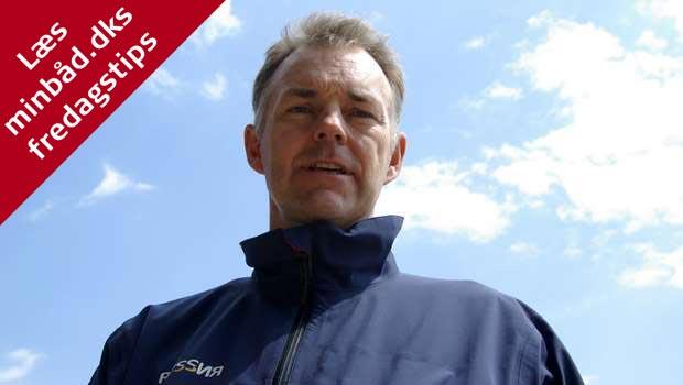 Stig Westergaard i 2009 på Kosatka i Volvo Ocean Race. Foto: Troels Lykke