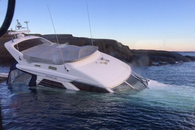 Føreren er nu anmeldt for sejlads med for høj promille. Foto: Redningsselskapet