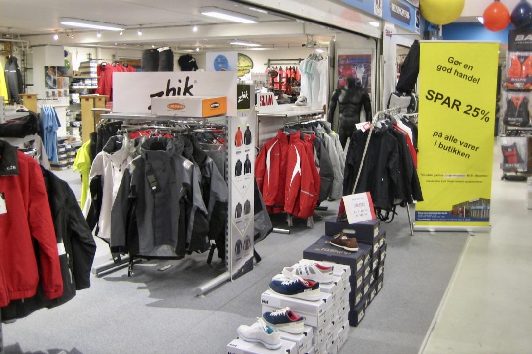 Siden den 17. november har sejleren kunnet gøre en god handel på nettet og i den fysiske butik i Greve. Foto: Tempo Bådudstyr