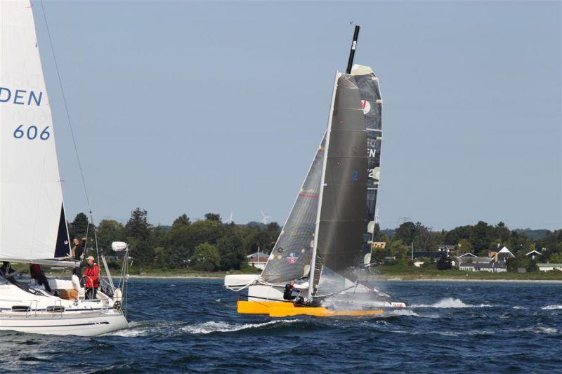 Flerskrogsbåde er også velkomne. Arkivfoto: 3broer.dk